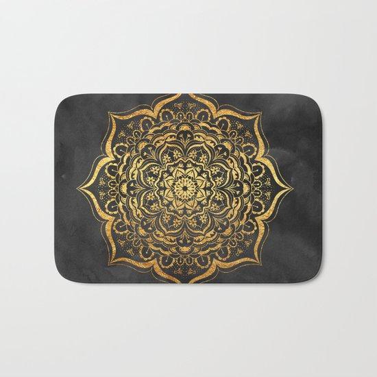 Gold Mandala Bath Mat