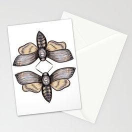 Death's Head Hawkmoth Pattern - Katrina Niswander Stationery Cards