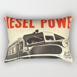 Diesel Power Rectangular Pillow