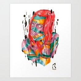 ∆NET∆ Art Print