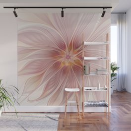 Soft Summer Dream, Fantasy Flower Wall Mural