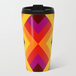Retro Pattern 16 Travel Mug