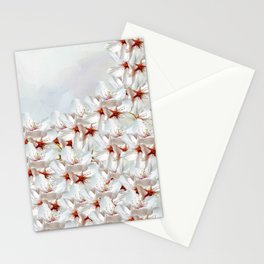 Sakura - Japanese cherry blossom Stationery Cards