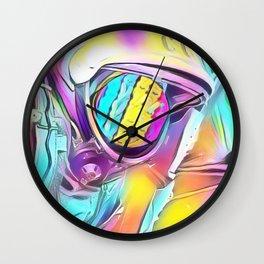 Space Peeps Astronaut Rainbow Sherbert Wall Clock