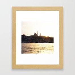 Istambul Framed Art Print
