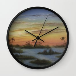 Out of the West Wall Clock