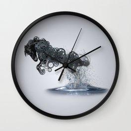 HorseFish Wall Clock