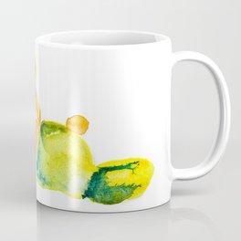 unconscious teddy bear Coffee Mug