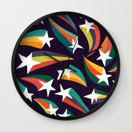 Shooting star Wall Clock