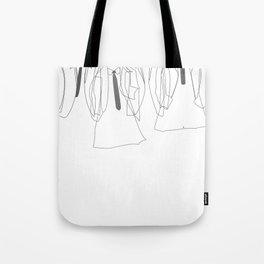 J&P&G&R - B/W Tote Bag