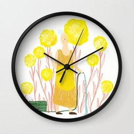 Happy May Wall Clock