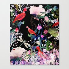 enchanted night Canvas Print