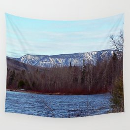 Mont Albert in the Spring Wall Tapestry