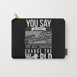 Revolution.  Carry-All Pouch