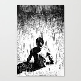 Make it rain Canvas Print