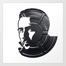 Edward Norton Art Print