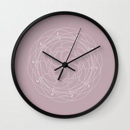 Ornament – Merry Go Round Flower Wall Clock
