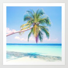 Mystical Palm Tree Art Print