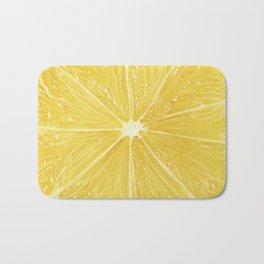 Slice of lemon Bath Mat
