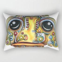 The Forlorn Alien Rectangular Pillow
