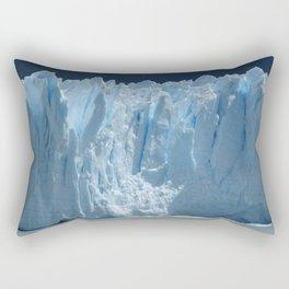 Giant glacier Rectangular Pillow