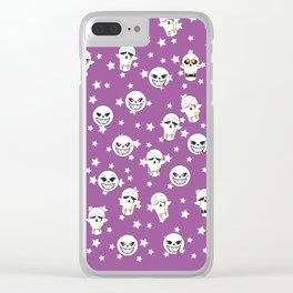 SF Sans Clear iPhone Case