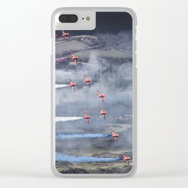 The Red Arrows Newcastle Clear iPhone Case