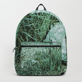GREEN PICTURE OF A ROCK Backpack