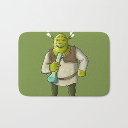 Ogre Smoking Bath Mat