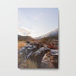 San Gorgonio Mountain View from Mill Creek Metal Print