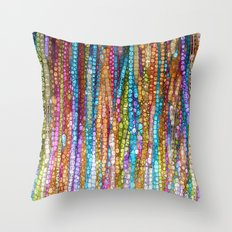 Rainbow Mosaic Throw Pillow