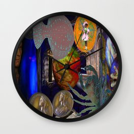 Ocean of Light Wall Clock