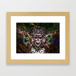 Our lord, the flayed Framed Art Print
