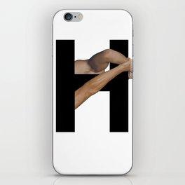 H. iPhone Skin