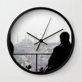 From Galata Tower Wall Clock