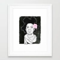 basquiat Framed Art Prints featuring Basquiat by DonCarlos
