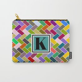 K Monogram Carry-All Pouch