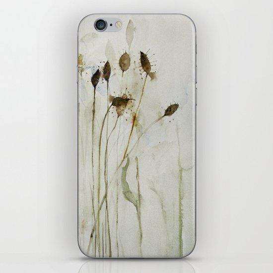 beautiful weeds iPhone & iPod Skin