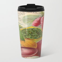 Vintage poster - Seven Grand Vegetables Travel Mug