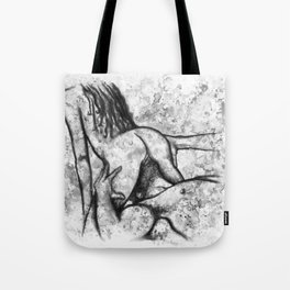 Hot Breakfast black&white - Erotic Art Illustration Nude Sex Sexual Love Lovers Relationship Couple Tote Bag