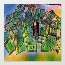 Fake stacks Canvas Print