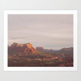 Sedona Arizona photograph. Vortex No. 3 Art Print