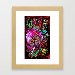 Forming Death Framed Art Print