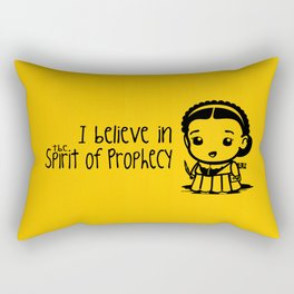 I believe in the Spirit of Prophecy Rectangular Pillow