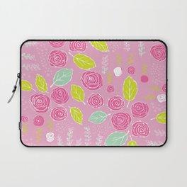 Belle Fleurs - bright roses Laptop Sleeve
