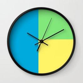Pantone colour Wall Clock