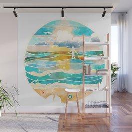 Bittersweet waves Wall Mural