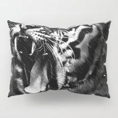 Tiger Head Wildlife Pillow Sham