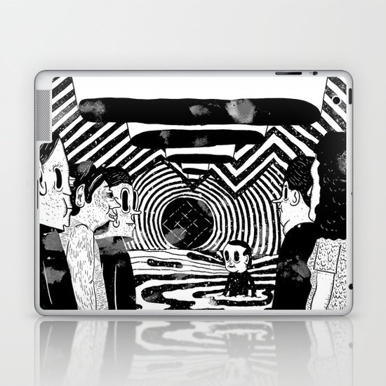"""Reflektor"" by Steven Fiche Laptop & iPad Skin"