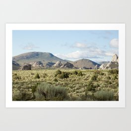 City of Rocks Art Print